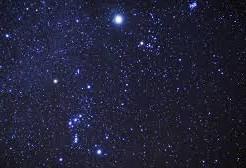星空を見ること
