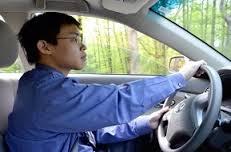 車の運転中にドライアイ