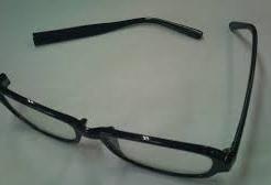 メガネのつるがおれたら